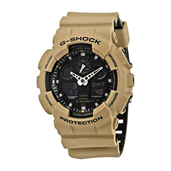 4d50b3735a Amazon.com: G-Shock Men's GA-1000L Beige One Size: Casio: Watches