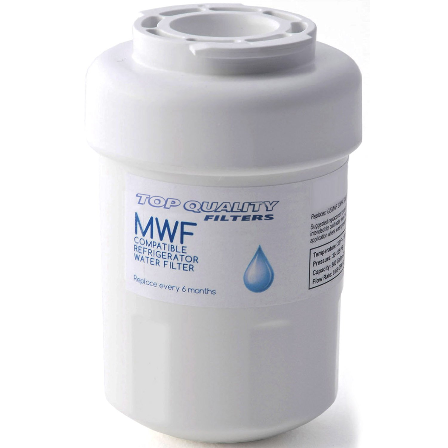 Best GE MWF Refrigerator Water Filter Smartwater Compatible Cartridge BEST MWF