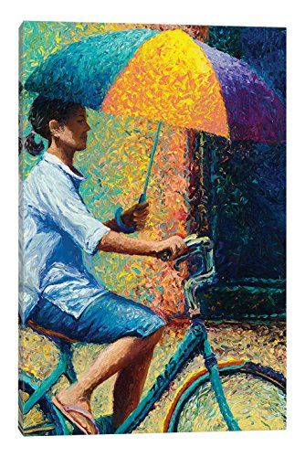 iCanvasART My Thai Sunbrella Canvas Print by Iris Scott, 60'' x 1.5'' x 40'' by iCanvasART