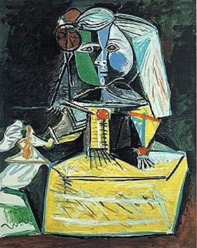 Infanta Margarita Maria Picasso 1957 - Cartel de la película de cine - La reproducción, el regalo perfecto - A2 Cartel (24/16.5 inch) - (59/42cm) - Papel fotográfico grueso brillante