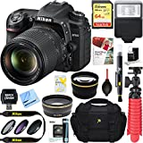 Nikon D7500 20.9MP DX-Format Digital SLR Camera + AF-S 18-140mm f/3.5-5.6G ED VR Lens + Accessory Bundle