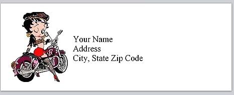 Betty Boop Navidad 48 grandes Sticky Libro Blanco calcomanías Etiquetas Nueva