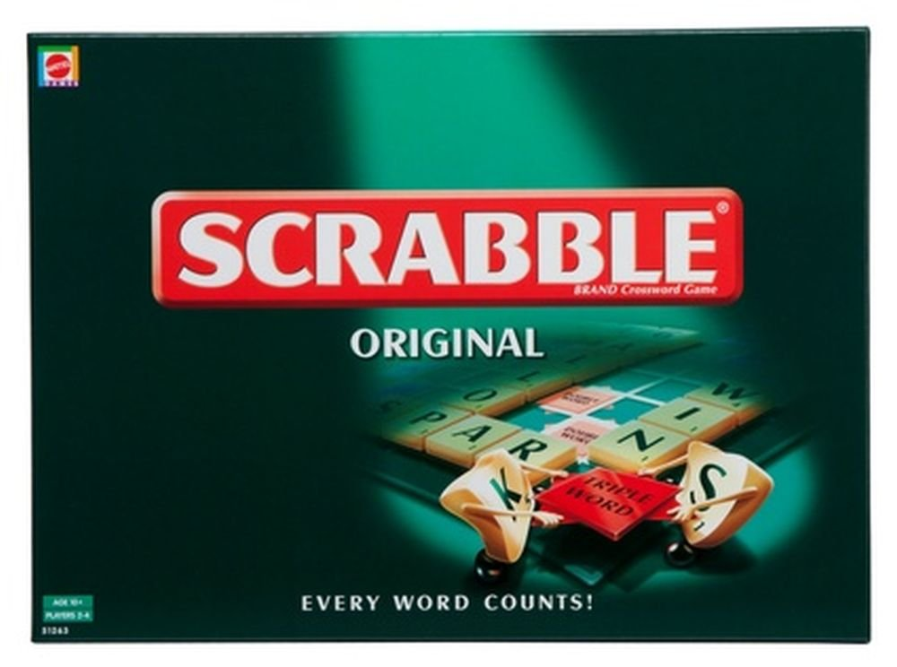 Mattel 51272-0 - Scrabble Das Original, Brettspiel