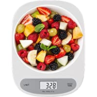 Arabest Kitchen Scale for Baking Cooking Coffee,Digital Food Scale for Diet with Large LCD Display, Measuring Tools 5kg…