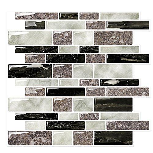 Stick On Tiles for Backsplash Kitchen | Self-Stick Backsplas