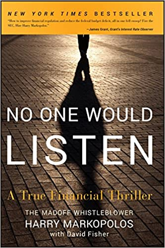 No One Would Listen: A True Financial Thriller Paperback – 8. March 2011