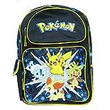 Backpack - Pokemon - Pikachu w/ Friends Large School Bag New 83124