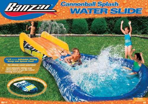 Banzai Cannonball Splash Water Slide Buy Online In Uae