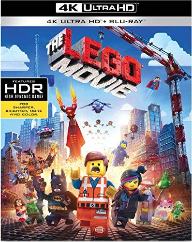 4K Blu-ray : The Lego Movie (Ultraviolet Digital Copy, 2 Pack, Digitally Mastered in HD, 2 Disc)