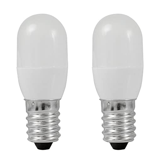 MENGS® Pack de 2 Bombilla lámpara LED 0.5 Watt E14, 3x 5050 SMD,