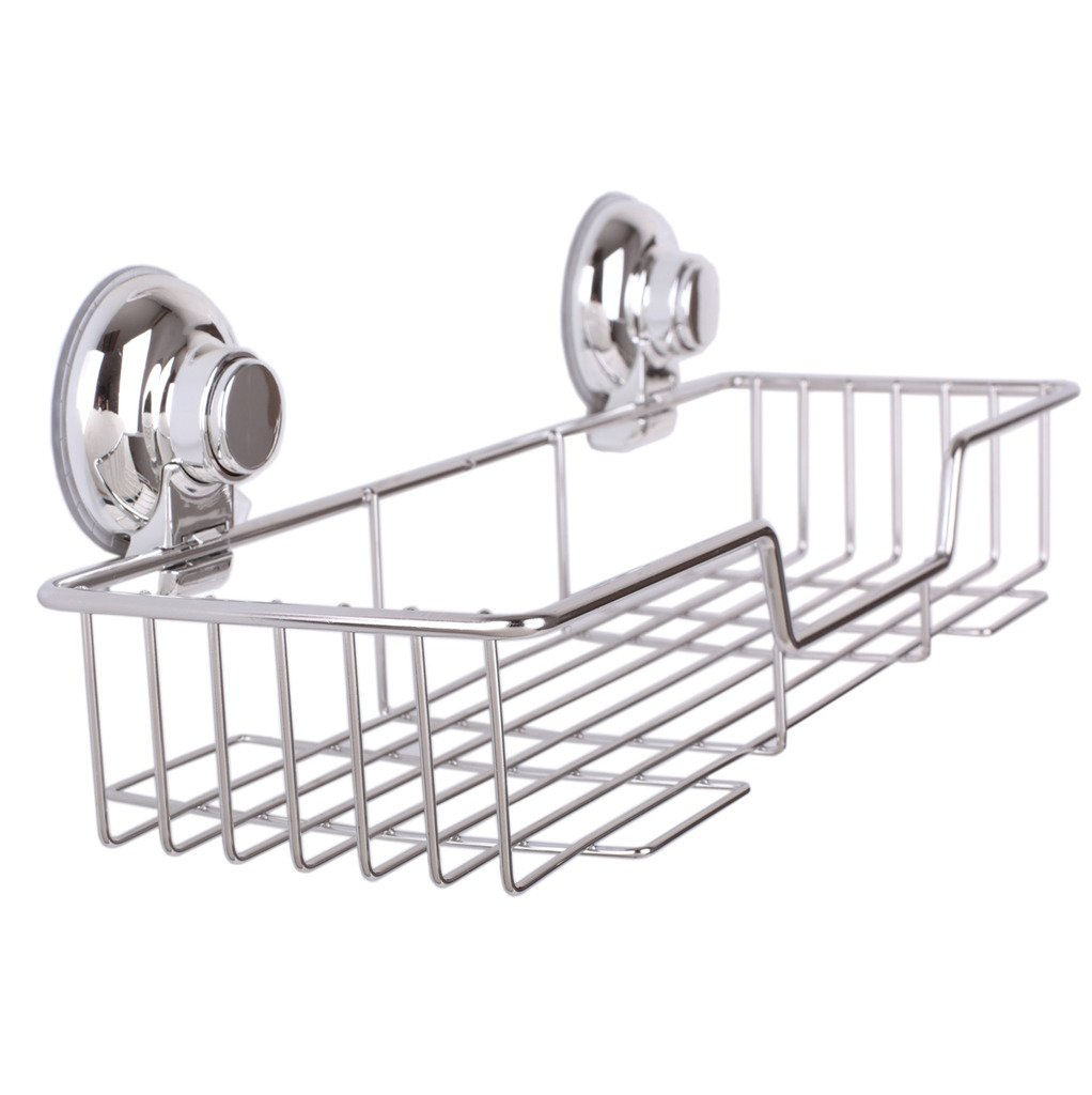 Ipegtop Kitchen Bathroom Rustproof Stainless Steel Shower Storage ...