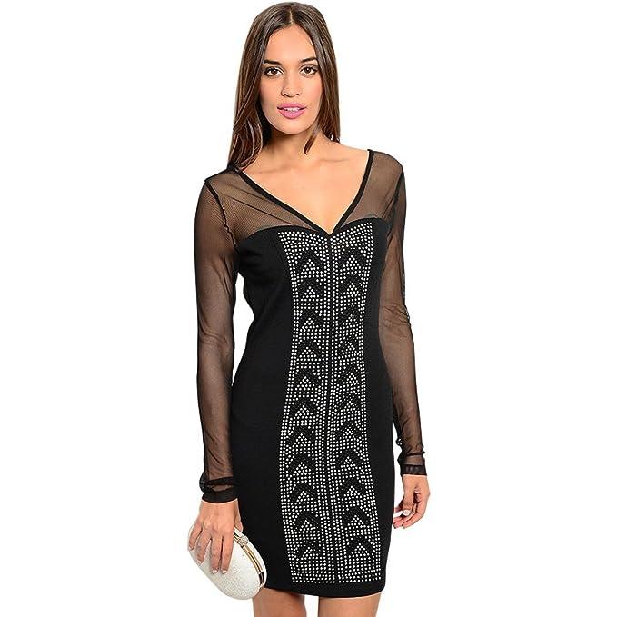 Giorgio West Women s Maile Bodycon Dress at Amazon Women s Clothing ... 9c04365f22