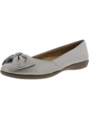 6b3963907 Amazon.com | Naturalizer Women's Flora Leather Flat Shoe | Flats