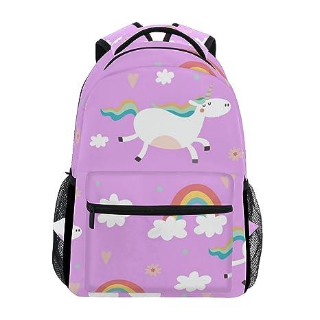Amazon.com: Mochila para portátil de moda, bolsa de hombro ...