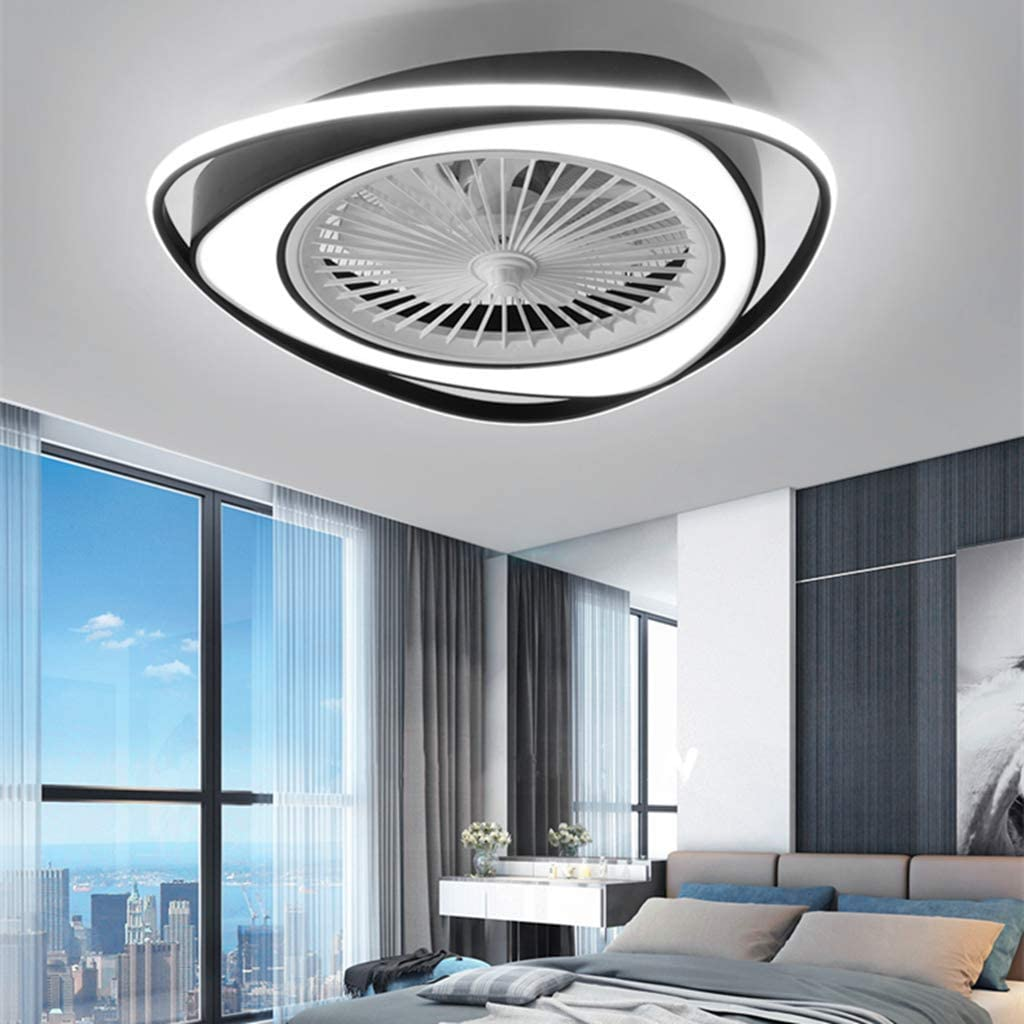 Fan Ceiling Fan Led Ceiling Light New Modern Creative With Remote Control Dimmable Silent Fan Lights