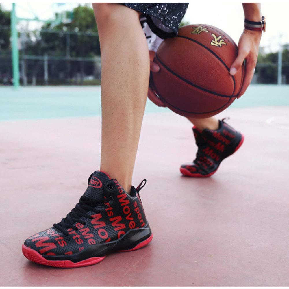 WWJDXZ WWJDXZ WWJDXZ Turnschuhe Unisex-Erwachsene Große Outdoor-Basketballschuhe für Herren Hohe Stimulus-Stiefel e6b467