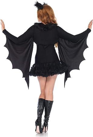 taglia: S Donna t7u Leg Avenue Costume da pipistrello colore: Nero