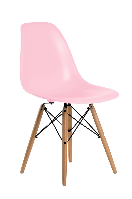 aryana home brostuhl replica eames rosa amazonde kche haushalt - Eames Stuhl Replik