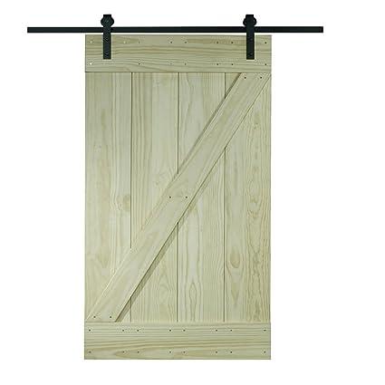 Amazon Pinecroft 8bdsw2480kdz Interior Wood Barn Door 24 X 80