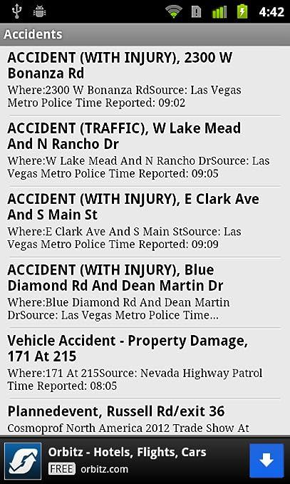 Las Vegas Traffic   8 News NOW
