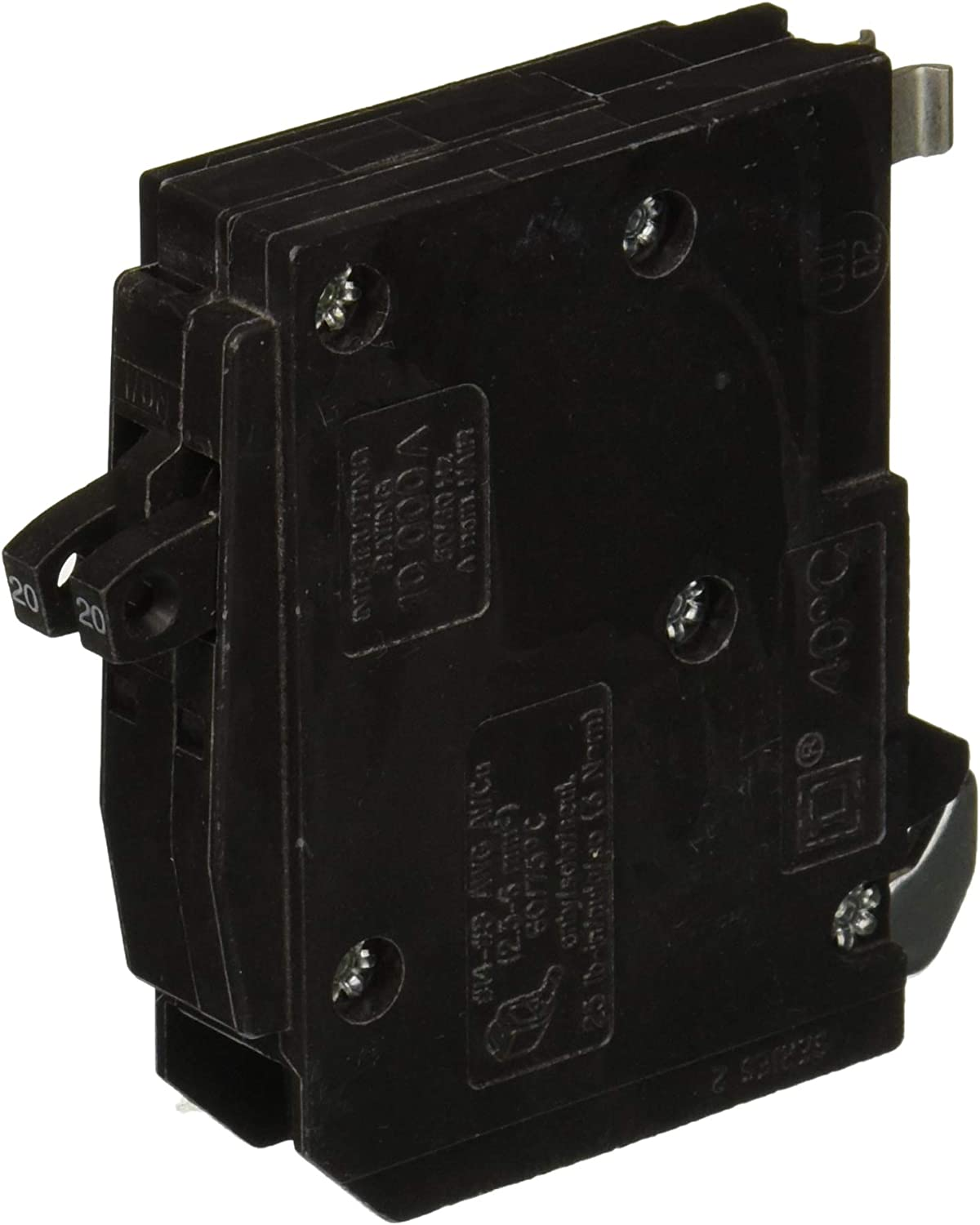 Square D by Schneider Electric One Source QO120CP 20-Amp 1-Pole Plug Circuit
