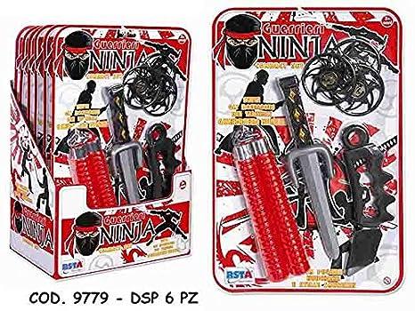 Set Armas ninja y accesorios juegos juguete idea regalo XAG ...