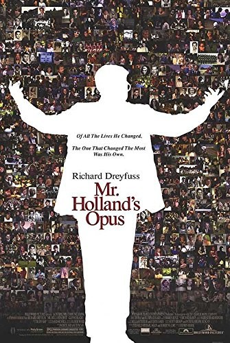 MR. HOLLAND'S OPUS (1995) Original Authentic Movie Poster 27x40 - Double-Sided - Richard Dreyfuss - Glenne Headly - Olympia Dukakis