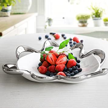 Piatto di frutta in ceramica moderna Decorazioni creative Tavolino ...