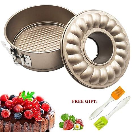 Amazon.com: Molde para tartas de 7 pulgadas con forma de ...