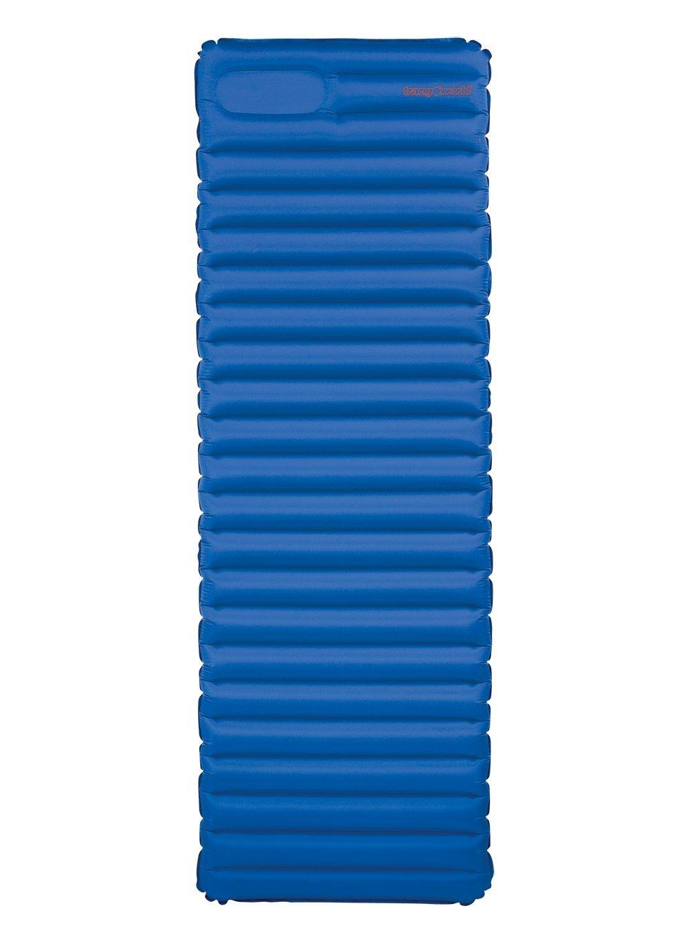 Trangoworld Komfort Air Reisebettmatratze Einheitsgr/ö/ße blau royal//dunklen Schatten