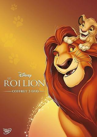 Amazon Com Le Roi Lion Coffret 3 Dvd Movies Tv