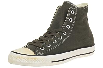 586cf0a5b7574f Converse Men s Chuck Taylor All Star Homme Vintage Washed Twill Hi Trainers