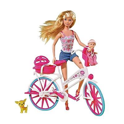 Simba Smoby 29Cm Steffi Love Bike Tour Doll: Toys & Games