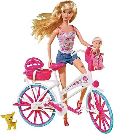 Amazon.es: Simba 105739050 Steffi Love - Muñeca con bicicleta ...