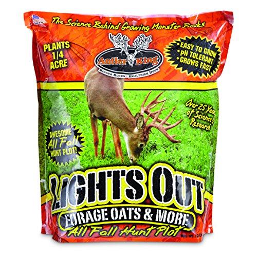 Antler King Deer Food Plot Lights Out Oats - Bear Lights Out