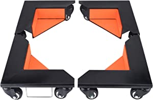 SOLEJAZZ Furniture Dolly Cabinet Corner Mover Dollies 1420 lb. Load Capacity (Set of 4)