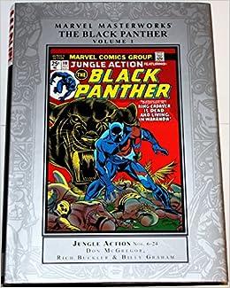 Amazon.com: Marvel Masterworks: The Black Panther: 1 ...