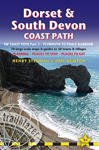 - Dorset & South Devon Coast Path: (SW Coast Path Part 3) British Walking Guide with 70 large-scale walking maps, places to stay, places to eat (Trailblazer: Sw Coast Path)