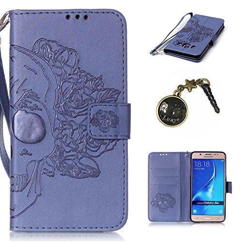 Smartphone Para 13 Funda Atril Tipo Samsung Función Tapón Piel Tarjetero Antipolvo Libro J510 J5 Galaxy 2016 De nbsp; Con Cierre 1 Magnético Y qqFIX