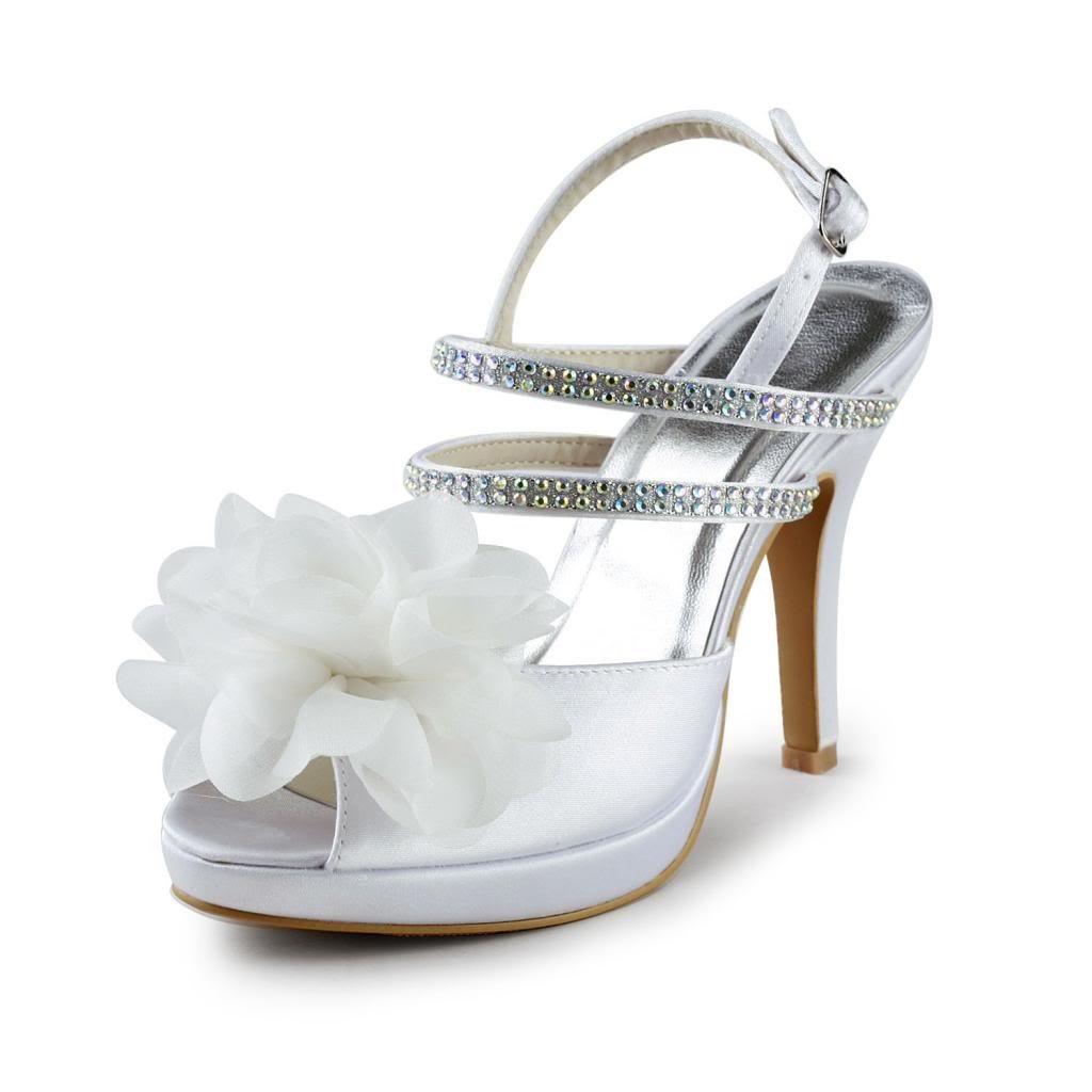 Jia Escarpins mariée Jia Wedding 37070 chaussures de mariée mariage Wedding Escarpins pour femme Blanc ef2dcd0 - boatplans.space