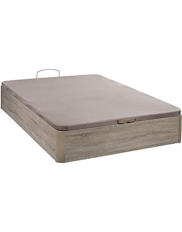 Santino Canapé Wooden Gran Capacidad Cambrian 160x190 cm con Montaje a Domicilio Gratis