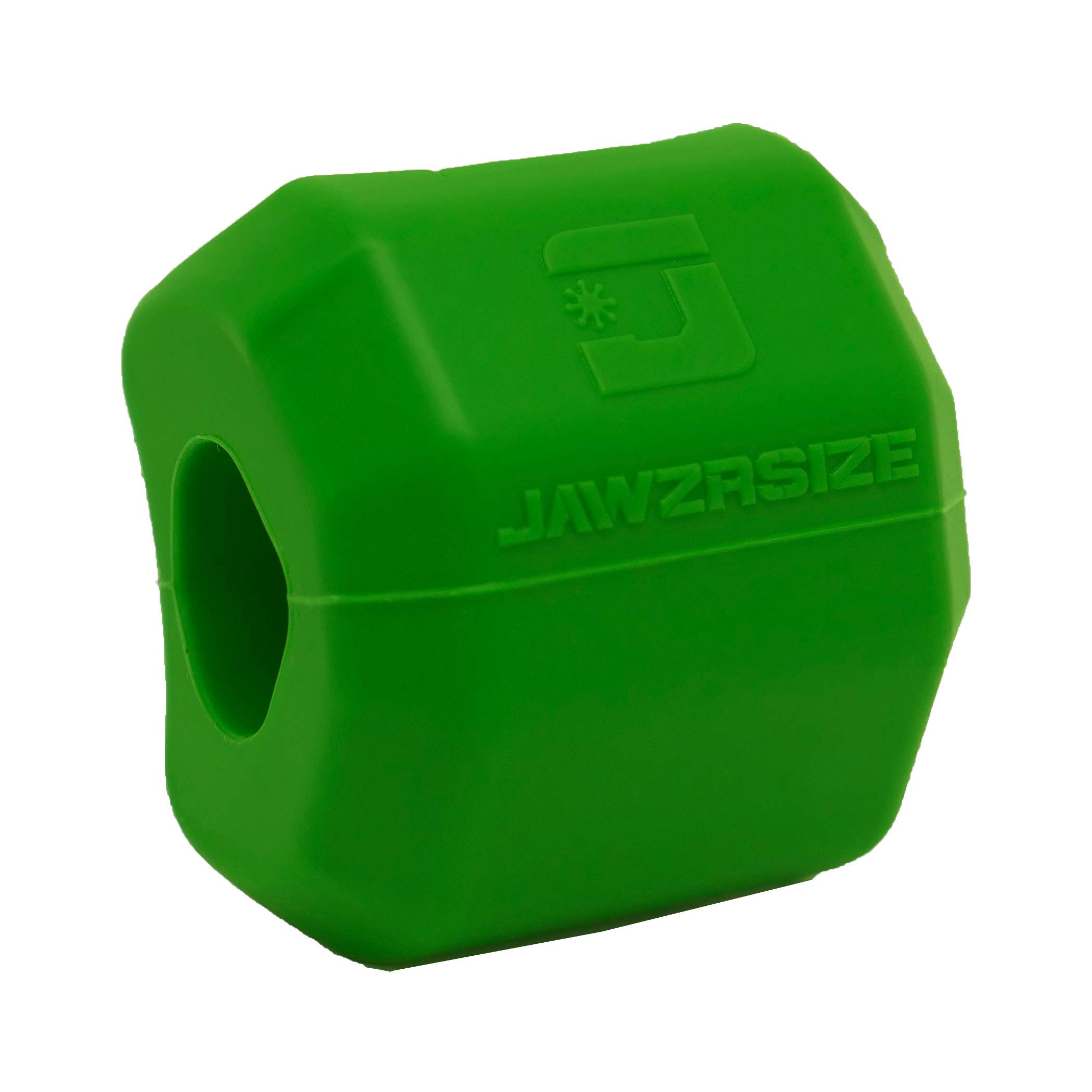 Jawzrsize Pop N Go (40lb. Resistance) - Slim, Define and Tone Your Face, Neck and Jaw (Green)