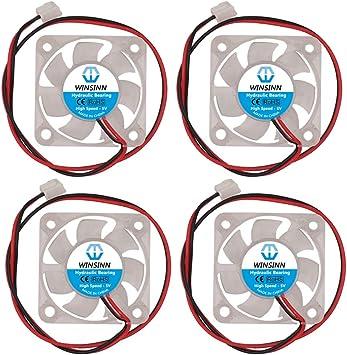 WINSINN 4010 4010 Ventilador LED Color 5V 12V 24V Rodamiento ...