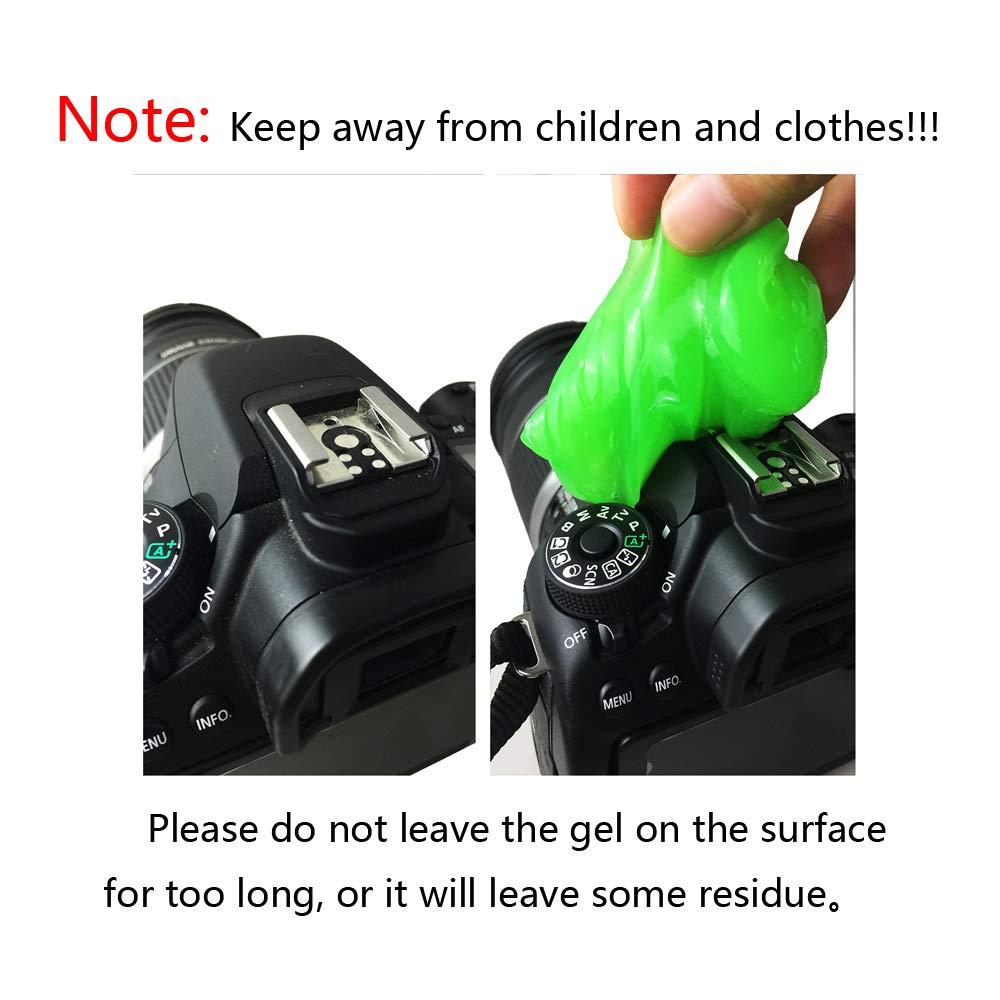 family-baby 4pcs Magia Teclado Limpiador Gel Sticky Jelly Ordenador de sobremesa Ordenador Polvo Remover Flexible Suave Pegamento: Amazon.es: Electrónica