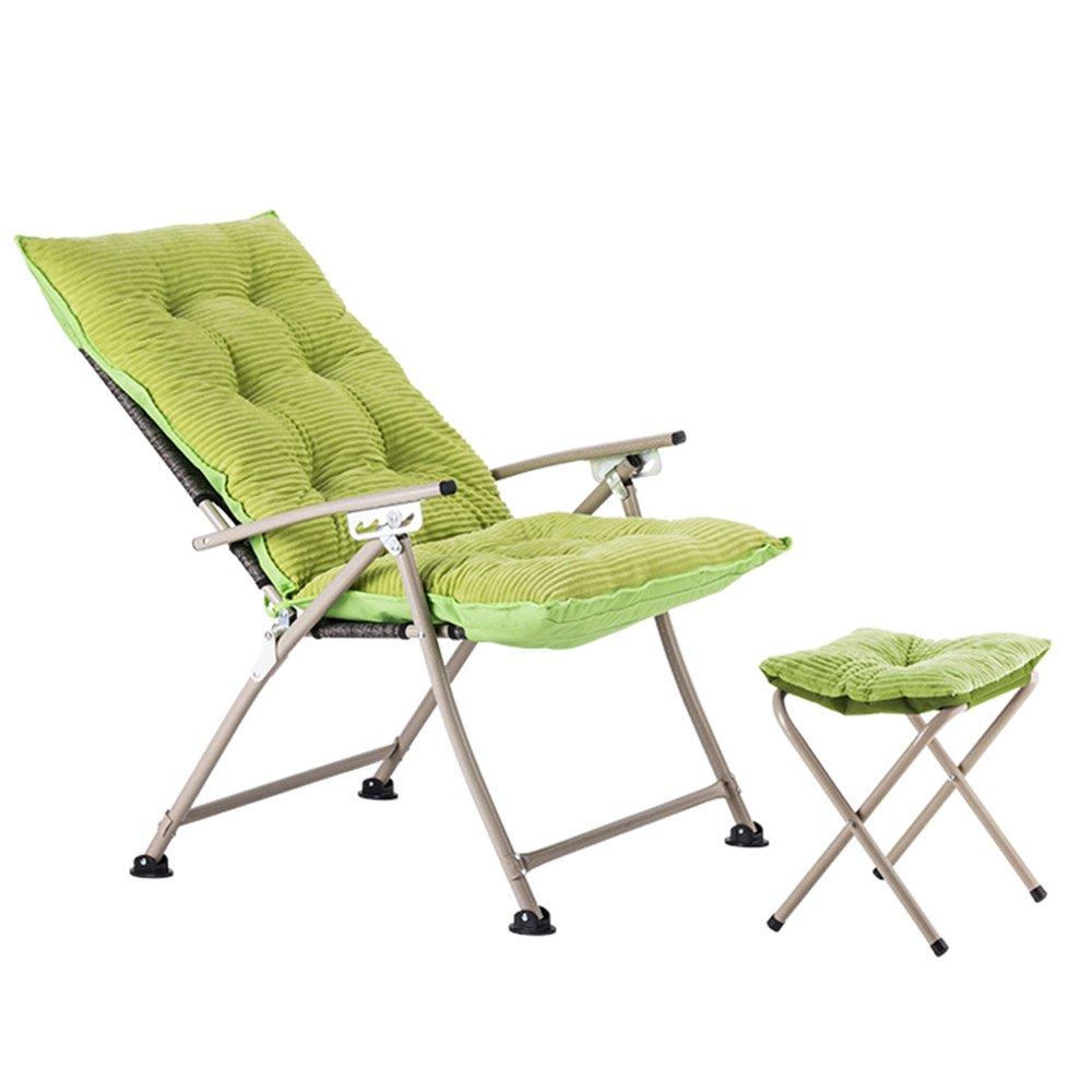 QFFL 家庭用シンプルな省スペースの折りたたみチェア/ベッドルームバルコニー背もたれの椅子/Foldableコンピュータチェア/実用的なポータブル屋外リクライニング(4色使用可能) アウトドアスツール (色 : A, サイズ さいず : 2#) B07F3FHMBN  A 2#