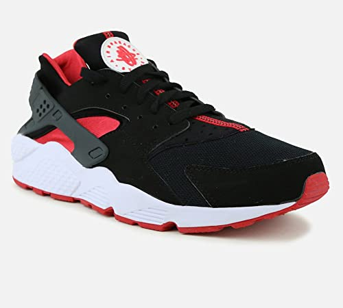 Nike Air Huarache (BRED) Black/University Red,University Red (13)