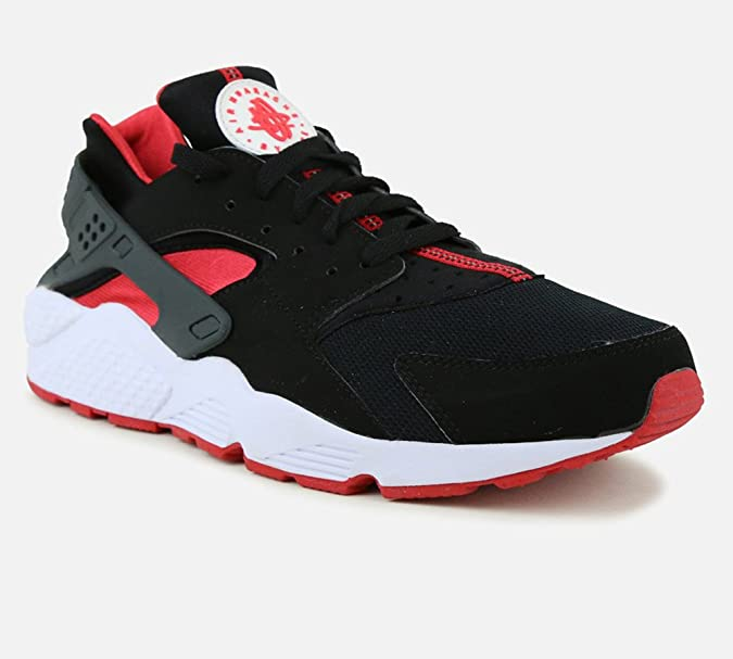 promo code 45a23 b238e Amazon.com   Nike Air Huarache (BRED) Black University Red-University Red  (13)   Shoes
