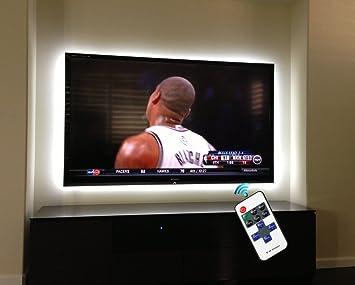 Tira de luces LED para 40 – 60 en TV, propow Bias Lighting para ...