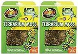 Zoo Med Terrarium Moss 30-40 Gallons (2 Pack)
