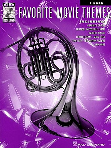 FAVORITE MOVIE THEMES FRENCH HORN BK/CD